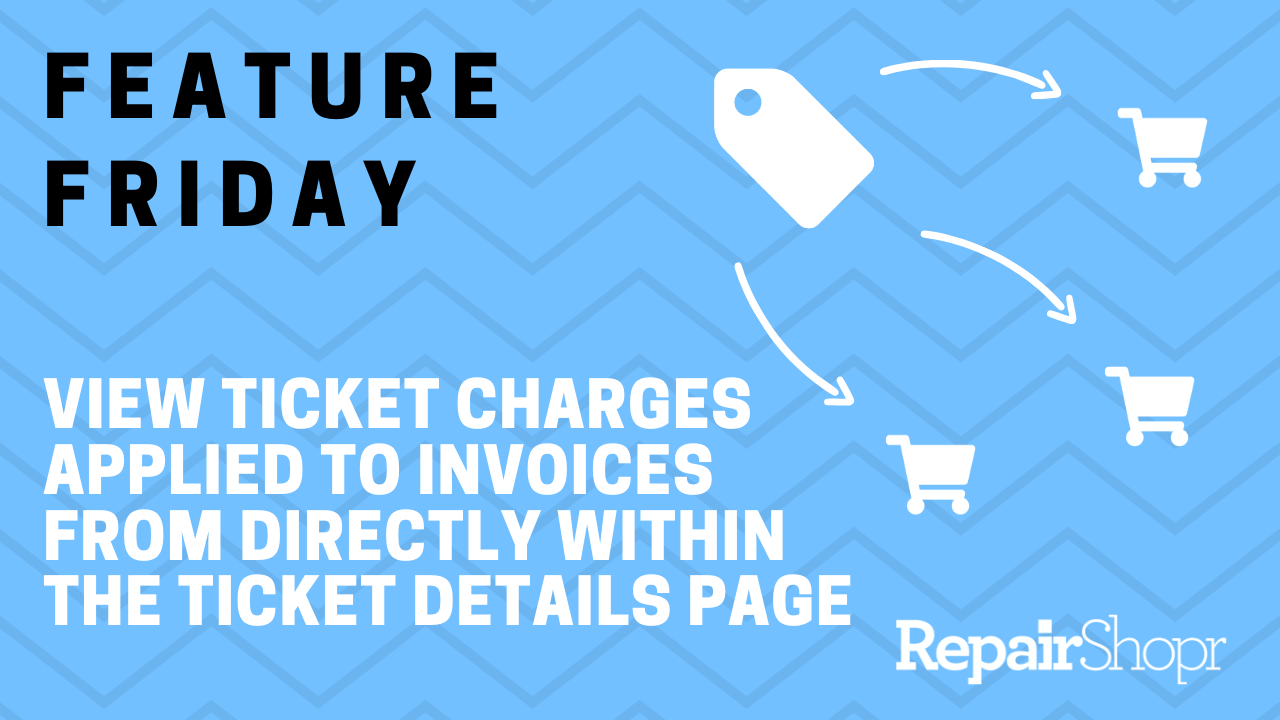 Feature Friday – Update to Ticket Charges Applied to Multiple Invoices