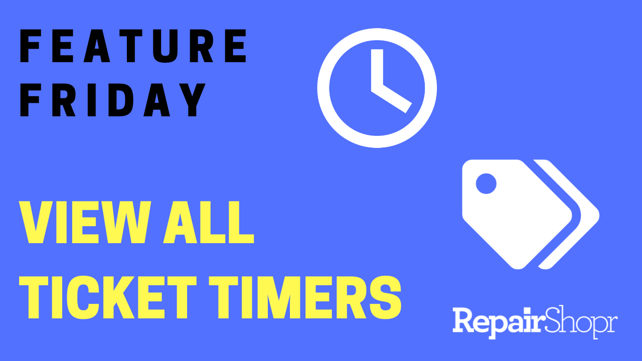 Feature Friday – New Way to View all Running Ticket Timers