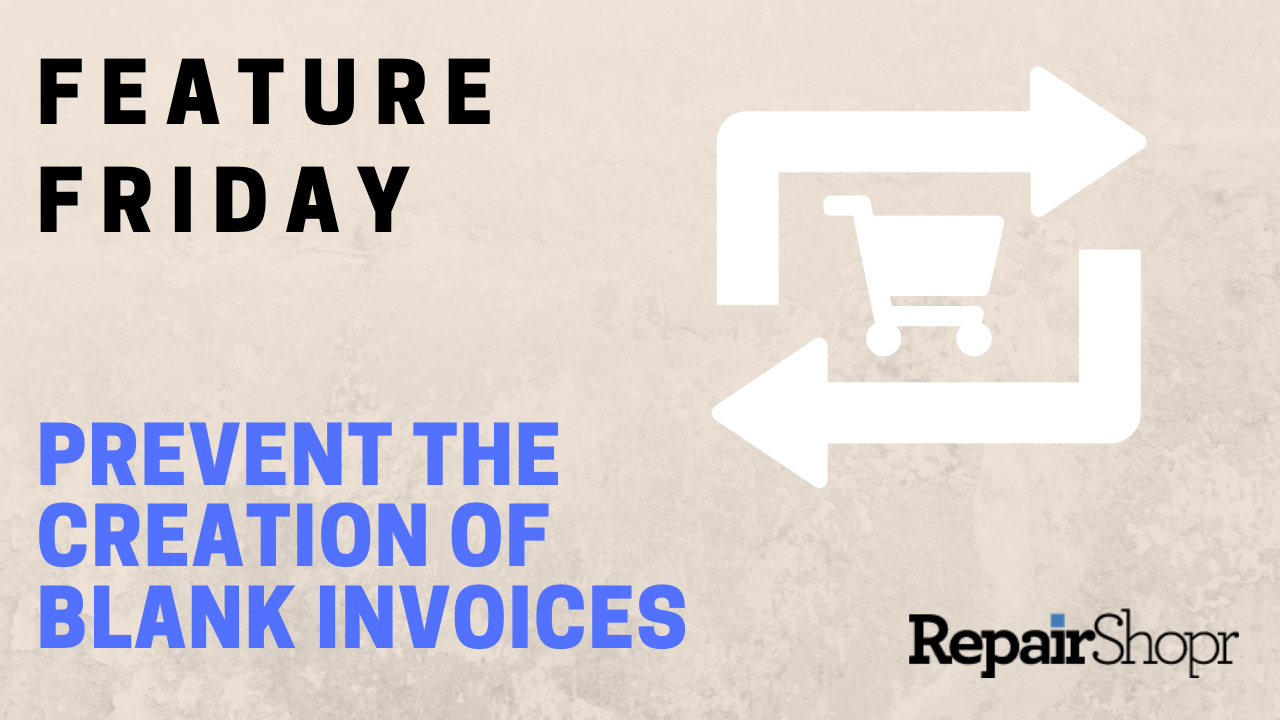 Feature Friday – Blank Recurring Invoice Removal Now Available