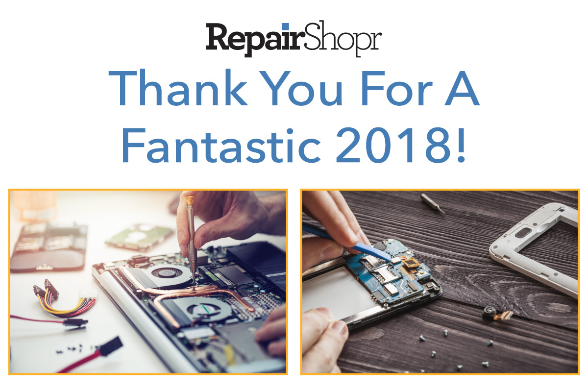 RepairShopr Year in Review 2018