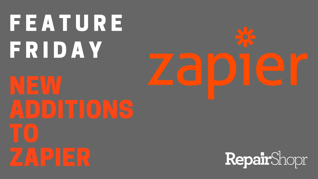 Feature Friday – New Additions to Zapier Integration!