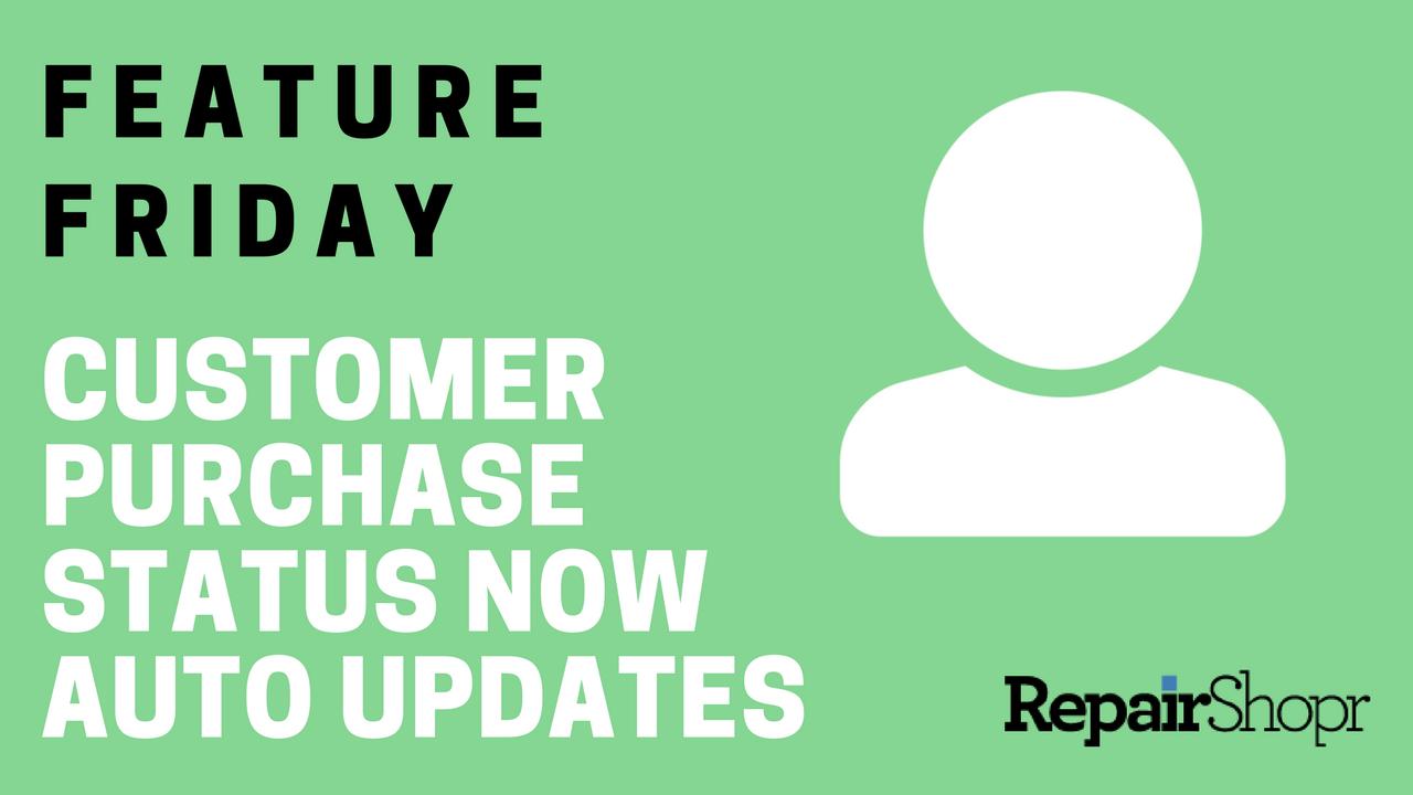 customer purchase status now auto updates