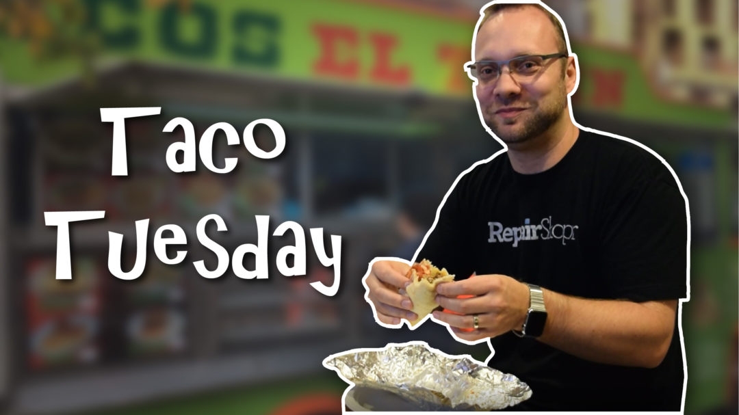 Taco Tuesday with the Back From The Future team