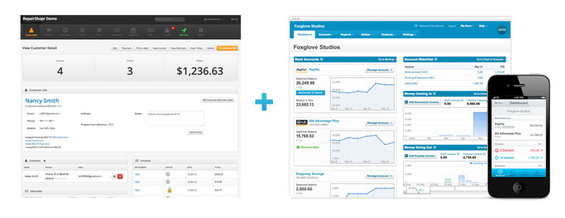 RepairShopr has integrated with Xero Accounting