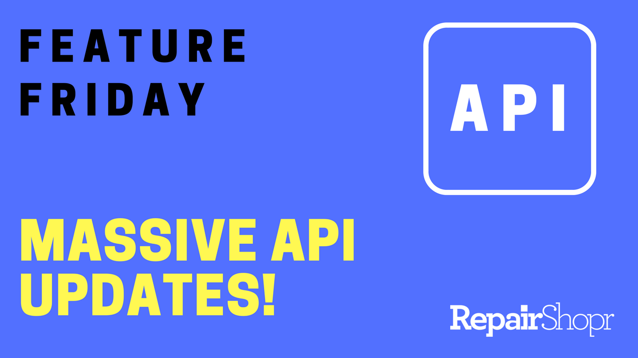 Feature Friday – Developers and Hackers: Massive API Updates