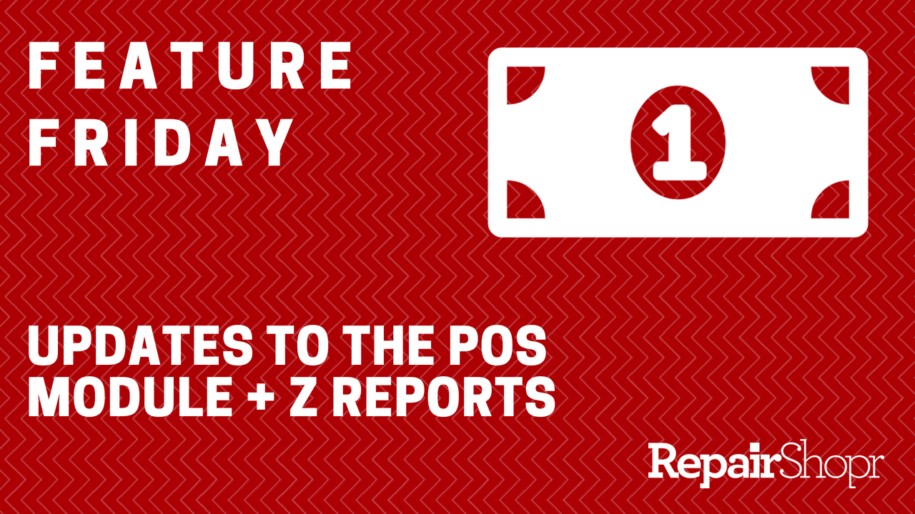 POS and Z Reporting updates