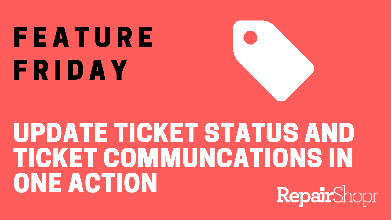 Feature Friday – Ticket Comments Now with Automatic Ticket Status Updates