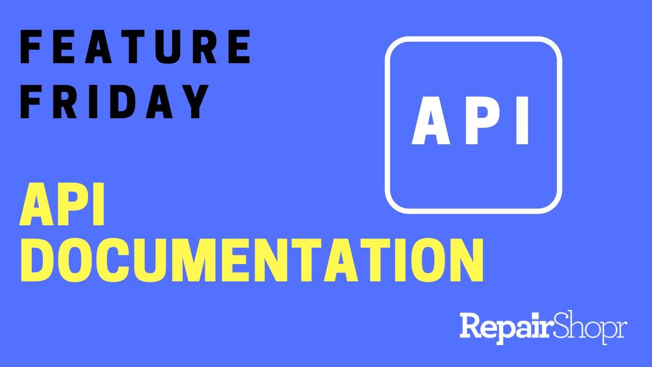 Feature Friday – API Documentation